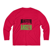Load image into Gallery viewer, Illinois Master Angler Men's Long Sleeve Moisture Absorbing Tee - Green Sqr