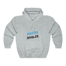 Load image into Gallery viewer, Wisconsin Master Angler Unisex Heavy Blend™ Hooded Sweatshirt -  State Blue