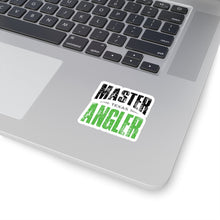 Load image into Gallery viewer, Texas Master Angler Sticker - GREEN