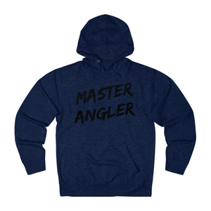 Master Angler Slash Unisex Terry Hoodie - Black