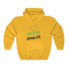 Load image into Gallery viewer, Ohio Master Angler Unisex Heavy Blend™ Hooded Sweatshirt -  State Green