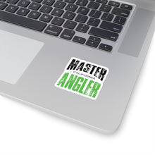 Load image into Gallery viewer, California Master Angler Sticker - GREEN