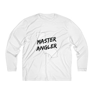 California Master Angler Men's Long Sleeve Moisture Absorbing Tee - Black Logo