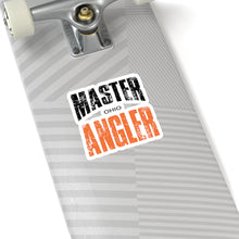 Load image into Gallery viewer, Ohio Master Angler Sticker - ORANGE