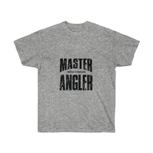 Load image into Gallery viewer, Wisconsin Master Angler Unisex Ultra Cotton Tee Blk Logo