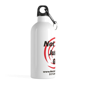 Not Just Guns Stainless Steel Water Bottle