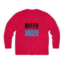 Load image into Gallery viewer, South Carolina Master Angler Men's Long Sleeve Moisture Absorbing Tee - Blue Sqr