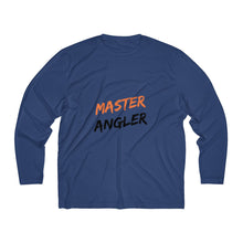 Load image into Gallery viewer, Master Angler Men's Long Sleeve Moisture Absorbing Tee - Orange Slash