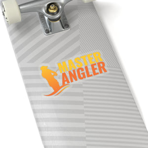 Master Angler Sticker - Orange