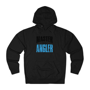 Ohio Master Angler Unisex Terry Hoodie Blue Sq