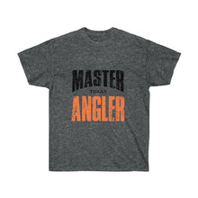 Load image into Gallery viewer, Texas Master Angler Unisex Ultra Cotton Tee Orange Logo