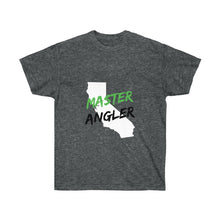 Load image into Gallery viewer, California Master Angler Unisex Ultra Cotton Tee Green Logo