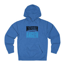 Load image into Gallery viewer, Florida Master Angler Unisex Terry Hoodie Blue Sq