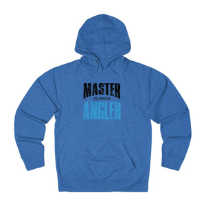 Florida Master Angler Unisex Terry Hoodie Blue Sq