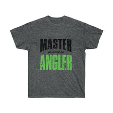 Load image into Gallery viewer, Alabama Master Angler Unisex Ultra Cotton Tee Green Logo