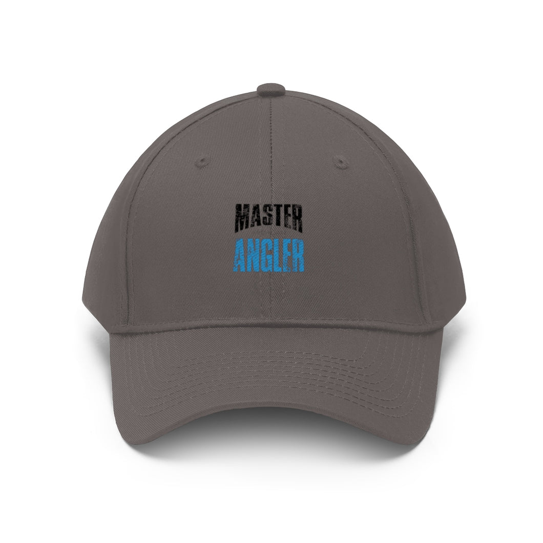 Michigan Master Angler Unisex Twill Hat - Blue Logo