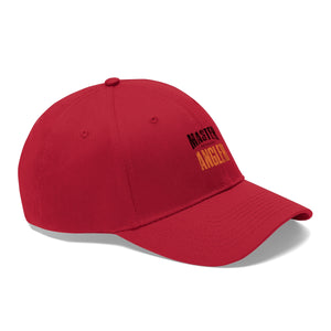 Michigan Master Angler Unisex Twill Hat - Orange Logo
