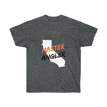 Load image into Gallery viewer, California Master Angler Unisex Ultra Cotton Tee Orange Logo