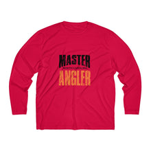 Load image into Gallery viewer, North Carolina Master Angler Men's Long Sleeve Moisture Absorbing Tee - Org Sqr