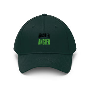 Michigan Master Angler Unisex Twill Hat - Green Logo