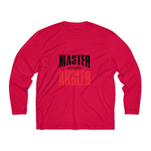 Load image into Gallery viewer, Georgia Master Angler Men's Long Sleeve Moisture Absorbing Tee - Red Sqr