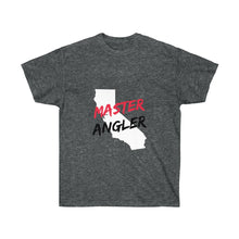 Load image into Gallery viewer, California Master Angler Unisex Ultra Cotton Tee Red Logo