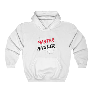 California Master Angler Unisex Heavy Blend™ Hooded Sweatshirt -  State Red