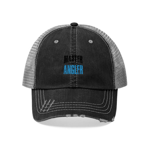 Michigan Master Angler Unisex Trucker Hat - Blue Logo