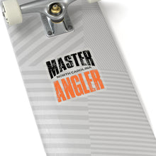 Load image into Gallery viewer, North Carolina Master Angler Sticker - ORANGE