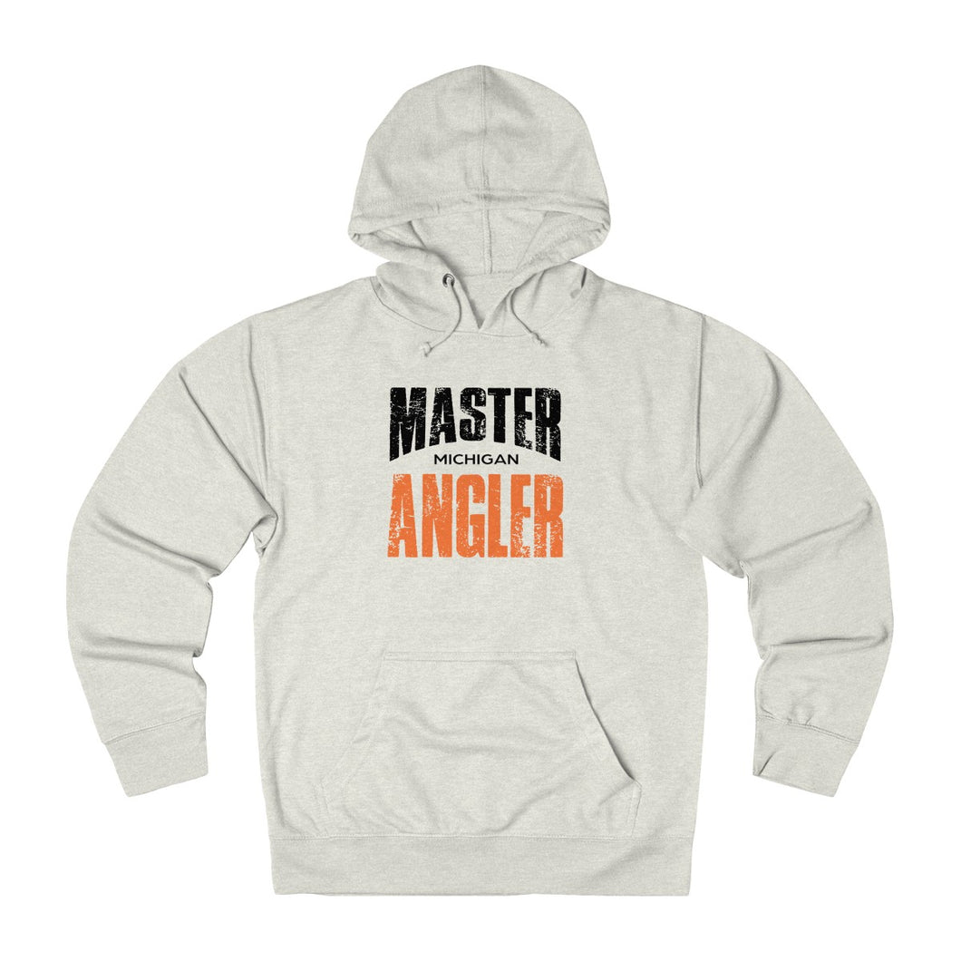 Michigan Master Angler Unisex Terry Hoodie Org Sq