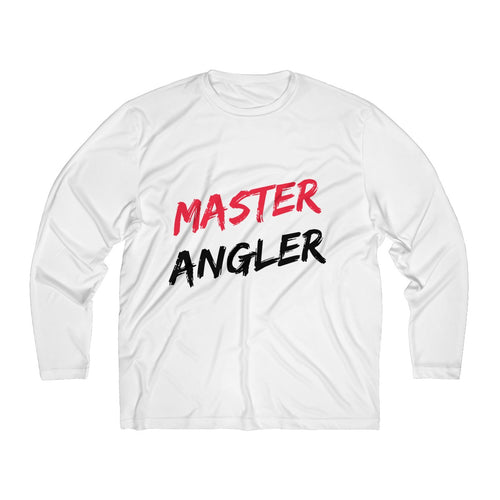 Master Angler Men's Long Sleeve Moisture Absorbing Tee
