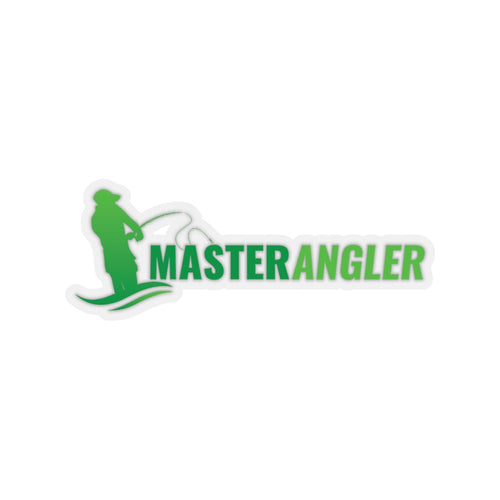 Master Angler Sticker Long - Green