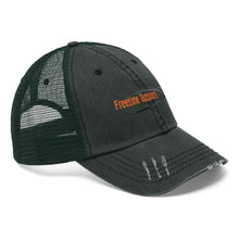 Load image into Gallery viewer, Freetime Outdoors Unisex Trucker Hat - Orange Logo