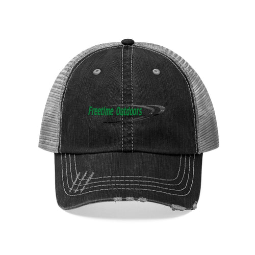 Freetime Outdoors Unisex Trucker Hat - Green Logo