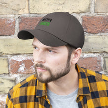Load image into Gallery viewer, Kansas Master Angler Unisex Twill Hat - Green Logo
