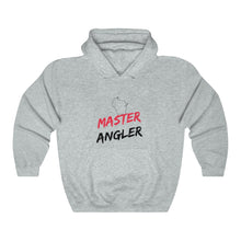 Load image into Gallery viewer, Wisconsin Master Angler Unisex Heavy Blend™ Hooded Sweatshirt -  State Red