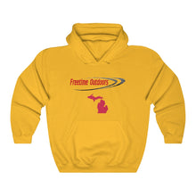 Load image into Gallery viewer, Freetime Outdoors Angler Unisex Heavy Blend™ Hooded Sweatshirt