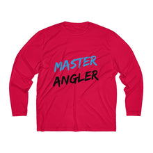 Load image into Gallery viewer, Master Angler Men's Long Sleeve Moisture Absorbing Tee - Blue Slash