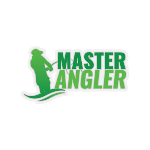 Master Angler Sticker - Green