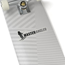 Load image into Gallery viewer, Master Angler Sticker Long - Black