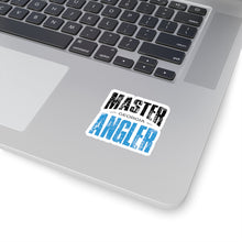 Load image into Gallery viewer, Georgia Master Angler Sticker - BLUE