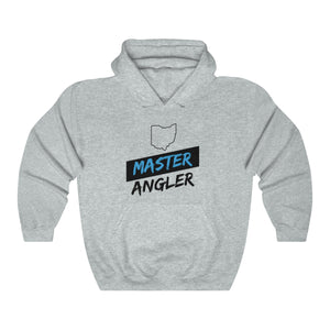 Ohio Master Angler Unisex Heavy Blend™ Hooded Sweatshirt - Slash Blue