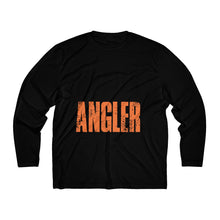 Load image into Gallery viewer, Michigan Master Angler Men's Long Sleeve Moisture Absorbing Tee - Orange