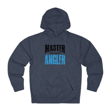 Load image into Gallery viewer, Wisconsin Master Angler Unisex Terry Hoodie Blue Sq