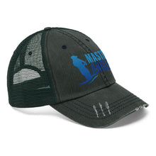 Load image into Gallery viewer, Master Angler Unisex Trucker Hat - Blue Logo