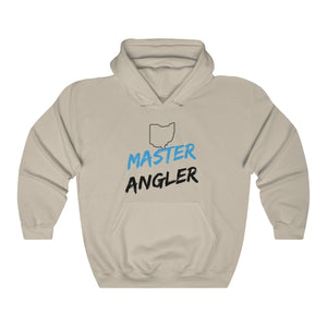 Ohio Master Angler Unisex Heavy Blend™ Hooded Sweatshirt -  State Blue