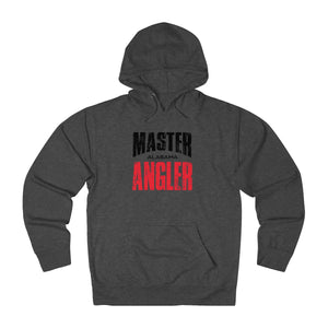 Alabama Master Angler Unisex Terry Hoodie Red Sq