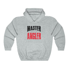 Load image into Gallery viewer, Michigan Master Angler Unisex Heavy Blend™ Hooded Sweatshirt - Red