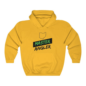 Ohio Master Angler Unisex Heavy Blend™ Hooded Sweatshirt - Slash Green