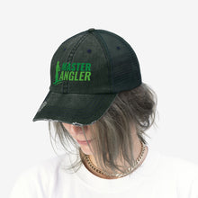Load image into Gallery viewer, Master Angler Unisex Trucker Hat - Green Logo